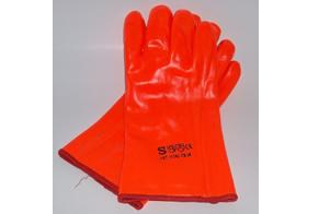 Handsker Orange PVC M/ Foer