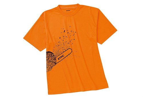 Stihl T-shirt DYNAMIC Mag Cool, orange high-viz